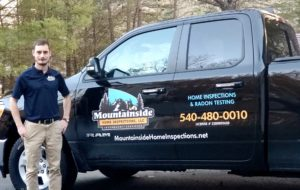 Mountainside Home Inspections Truck